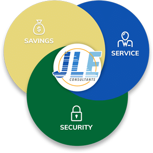 JLE Consultants - Savings, Security, Service